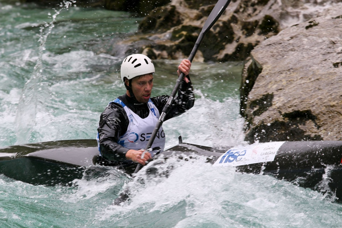 Double Slovenian win in men's kayak, two medals for Paloudova