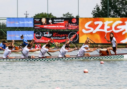 Three European Champion titles for Russia in nation's part of the Dragon Boat European Championships in Szeged