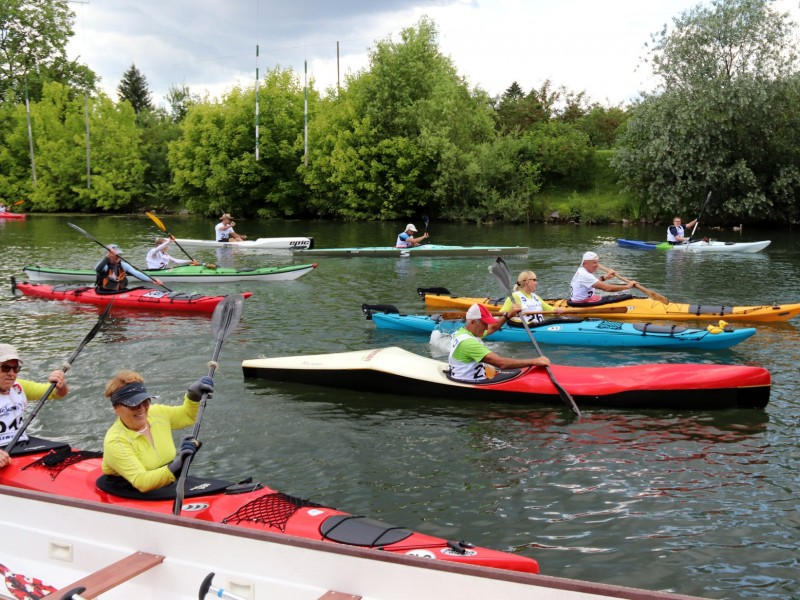 Ljubljana hosted charity paddling event