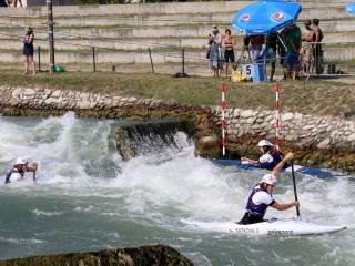 Golden Czech day at Junior and U23 Canoe Slalom European Championships