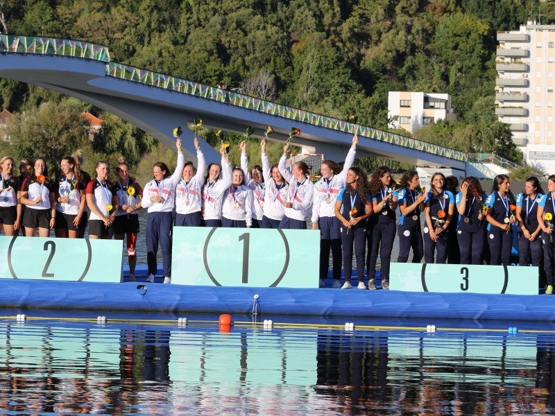 Germany and Great Britain take gold medals on the last day of 2019 ECA Canoe Polo European Championships