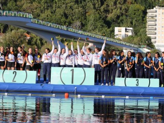 Germany and Great Britain take gold medals on the last day of 2019 ECA Canoe Polo European ...