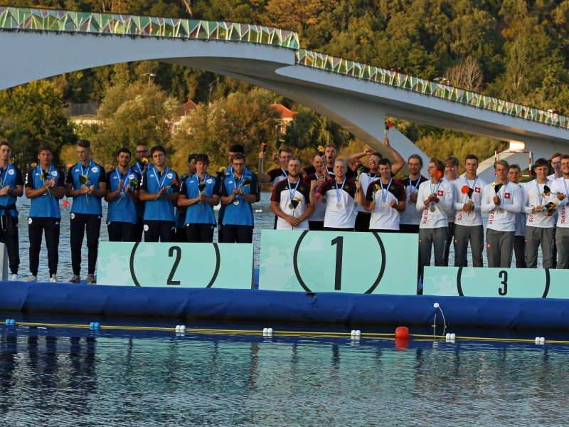 Double Canoe Polo U21 European Champion title for Germany