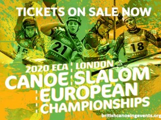 Tickets for the 2020 ECA Canoe Slalom European Championships on sale now!