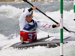 Cindy Poeschel and Giovanni De Gennaro the fastest on the opening day of European Championships in ...