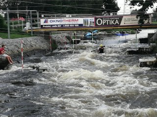 Česke Budejovice hosted last ECA Wildwater Sprint Canoeing European Cup