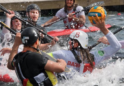 Germany unbeatable at the ECA Canoe Polo Cup in Denmark