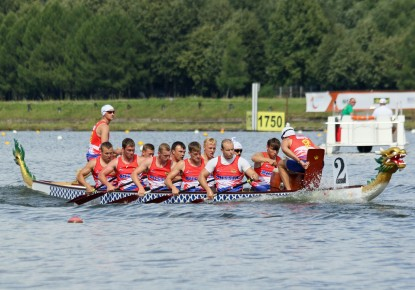 Eleven gold medals more for Russia at Dragon Boat European Championships