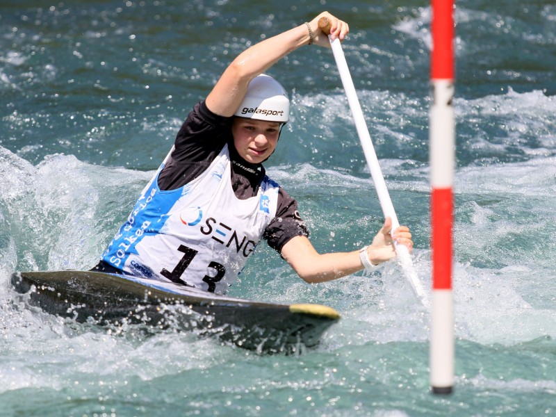 ECA Junior Slalom Cup series kicked off in Solkan