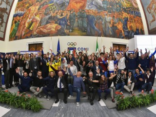Italian Canoe Federation celebrated success of the year 2018