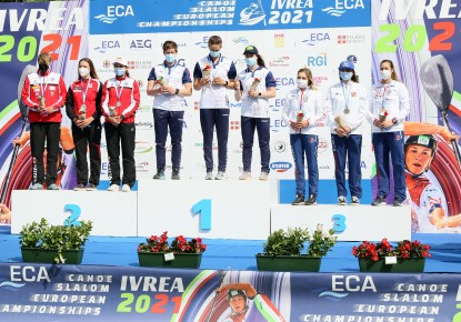 Strong comebacks for the British and Slovak Canoe Slalom Teams