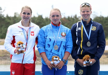Belarus and Russia conclude European Championships in Račice with 15 medals each