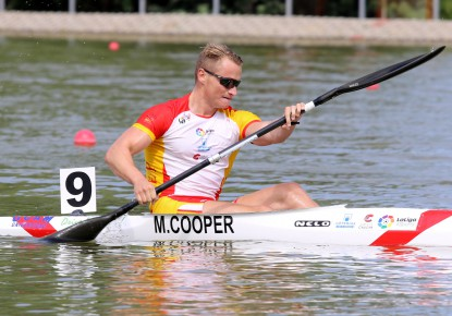 Marcus Cooper Walz and Adriana Paniagua paddlers of the year in Spain