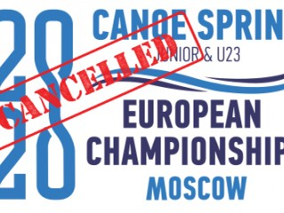 2020 ECA Junior and U23 Canoe Sprint Europeans cancelled