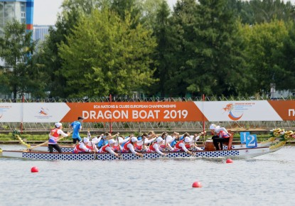 Russia dominated opening day of the 2019 ECA Dragon Boat Nations and Clubs European Championships and European Cup