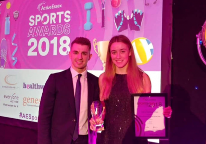 Ottilie Robinson Shaw Essex Young Sports personality of the year