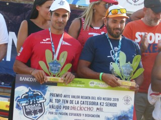 Europeans among the best at the International regatta Rio Negro