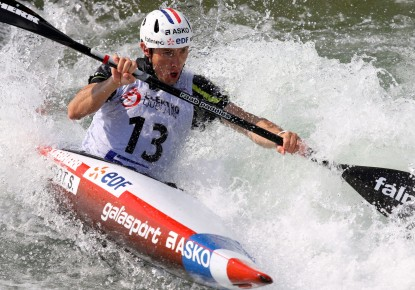 Sébastien Combot retired from competitive canoe slalom