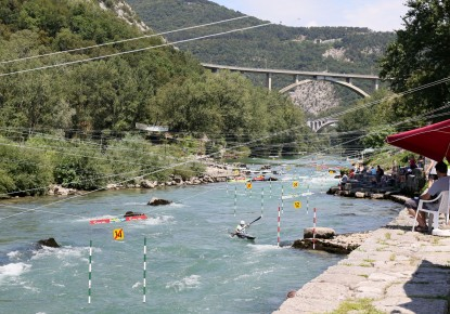 Preparations of the 2020 ECA Junior and U23 Wildwater Canoeing European Championships continue