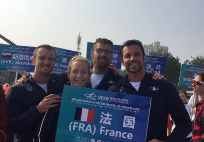 European canoe sprinters on the top of Super Cup in China
