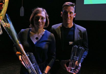 Eva Terčelj and Luka Božič are Slovenian paddlers of the year